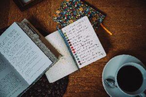 zápisník pro váš vzácný čas