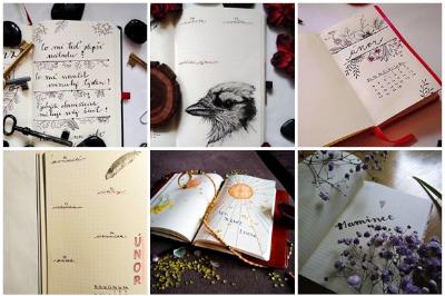 zápisníky 365 bullet journal love 365